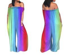 Rainbow Premium Jumpsuit