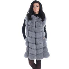 Baddie Fur Vest