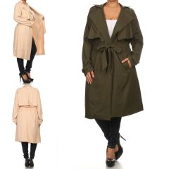 Plus Luxe Trench