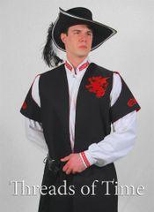 Heraldic Long Vest