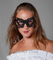 Lace Mask - Maple / Butterfly