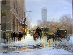 New York Plaza by G. Harvey