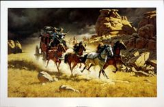 The Chase by Frank McCarthy