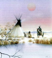 Winter Camp by Donald Vann