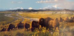 The Passing Herd by Michael Sieve