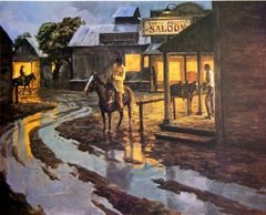 Evening at the Empty Pockets by James Reynolds