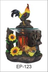 Rooster Poly Resin Burner