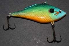 Reel Deal Rattle Trap 1/2oz - Pumpkinseed