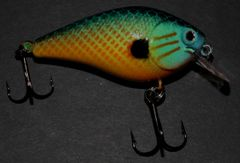 Reel Deal Crankbait Rattling - Pumpkinseed
