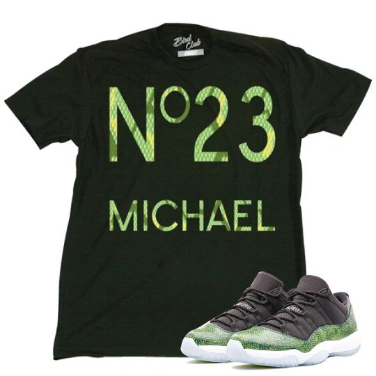 AIR JORDAN SNAKESKIN LOW TEE