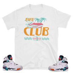 "South Beach Jordan 8 ""Fast Money"" shirt"