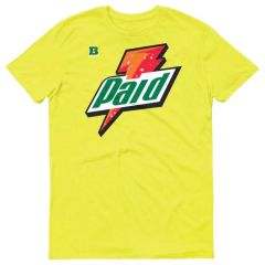 RETRO 1 GATORADE YELLOW CYBER SHIRT