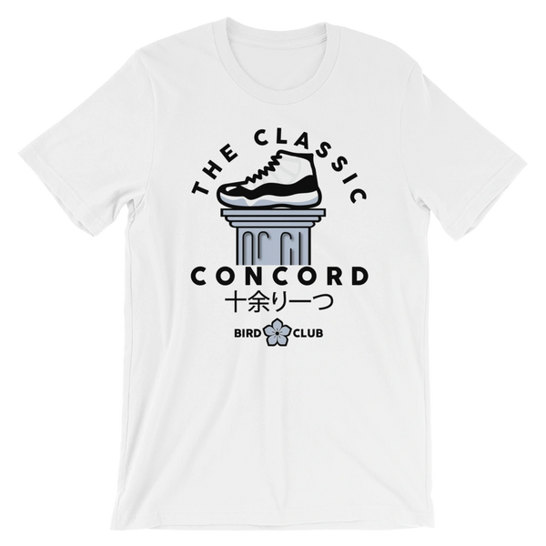 Classic Jordan Concord 11 sneaker tee