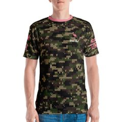 Camo flamingo Traps open shirt