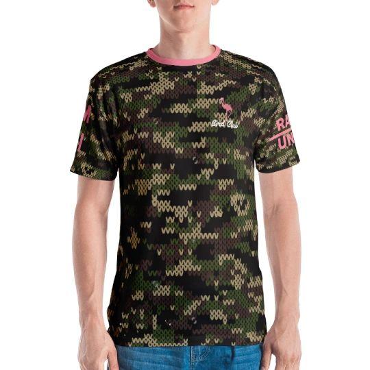 Camo flamingo Traps open shirt