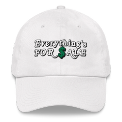 Everythings For Sale Dad hat