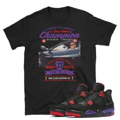RAPTOR 4'S matching Jordan shirt
