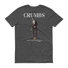 "SLICK RICK THE RULER ""CRUMBS"" WOLF GREY SHIRT"