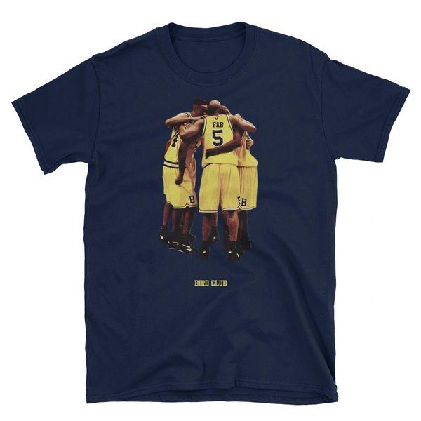 Fab 5 Michigan 12's matching shirt