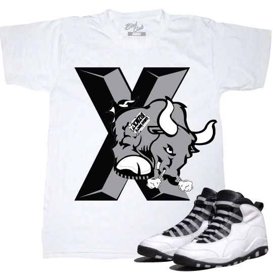 STEEL 10'S TEE TO MATCH