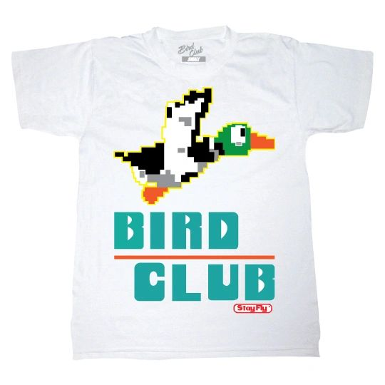 BIRD CLUB DUCK HUNT SHIRT