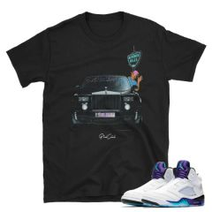 Fresh Prince Air Jordan 5 shirt