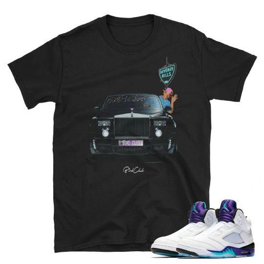 Fresh Prince Air Jordan 5 shirt