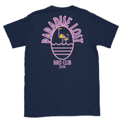 Paradise Lost Flamingo log shirt