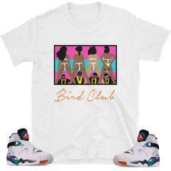 "South Beach Jordan 8 ""2 Live"" shirt"