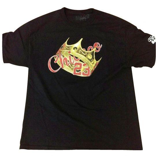 King Jordan Chicago Tee