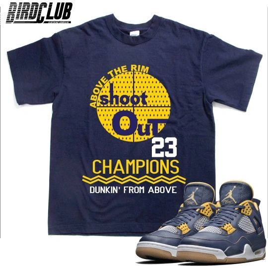 "Air Jordan 4 ""Dunk From Above"" shirt"