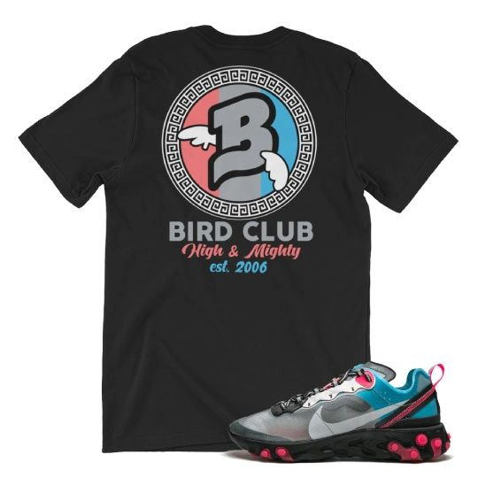 React Element 87 solar red shirt