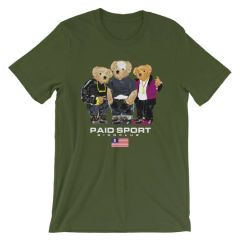 "Paid in Full ""Paid Sport"" Polo Bear shirt"