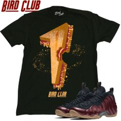 PEANUT BUTTER AND JELLY MAROON FOAMPOSITE SHIRT