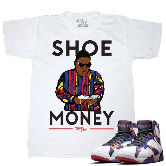 "Air Jordan 7 ""Nothing but net"" Sweater tee"