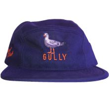 GULLY 5 PANEL (NAVY BLUE, PLASTIC CLIP STRAP)