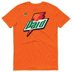 RETRO 1 GATORADE ORANGE SHIRT
