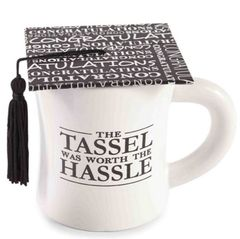 Mud Pie Cap and Tassel Graduation Mug
