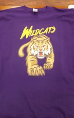 Adult Wildcat Tee with.