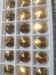 aurum 16mm circle sew ons