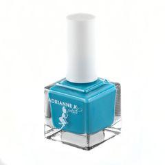 "ADRIANNE K, Non-toxic 7 Free Medium Blue Nail Polish, ""Blue Butterfly"" pregnancy-safe/Maternity Vegan & Kid-safe"