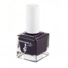 ADRIANNE K, NONTOXIC 10 FREE BLACK CHERRY NAIL POLISH, DIBA, .51 FL OZ