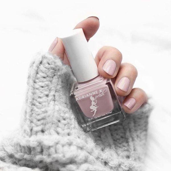 nontoxic 10 free organic blush pink neutral nail polish vegan USA ...