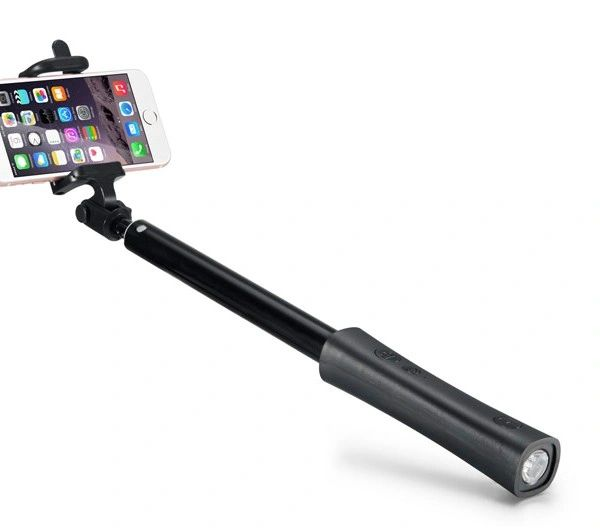 Selfie Stick with Auxiliary Cable