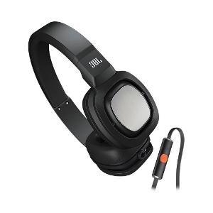JBL Tempo On-Ear Headphone With Mic – J55iB (Black)