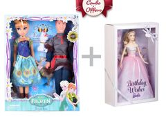 Family Doll and Barbie doll set Toy Combo pack