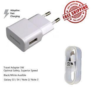 Samsung Universal Mobile Charger USB Power Wall Adapter