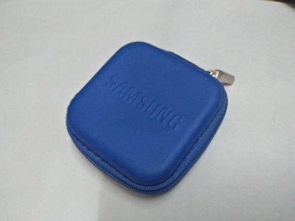 Samsung Blue Earphone Pouch
