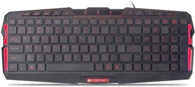 Zebronics Radiant Multimedia Gaming Keyboard