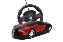 Solanki King Car Bugatti Style Steering Radio Control Rechargeable Car